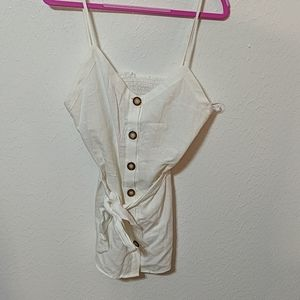 White linen blouse from Zara size XS